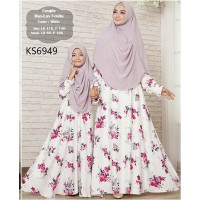 Baju Muslim Couple KS6949