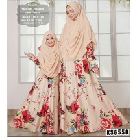 Baju Muslim Couple KS6558