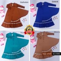 Baju Gamis Renda Anak KS10081
