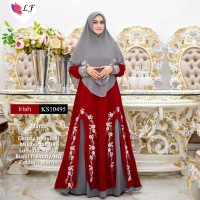 Baju Muslim Irish KS10495