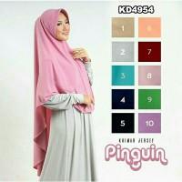 Hijab Khimar Pinguin Pad KD4954