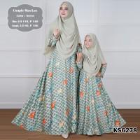 Baju Muslim Couple KS6278