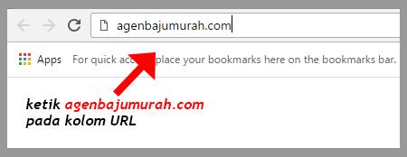 Cek stok agenbajumurah.com bagian 1