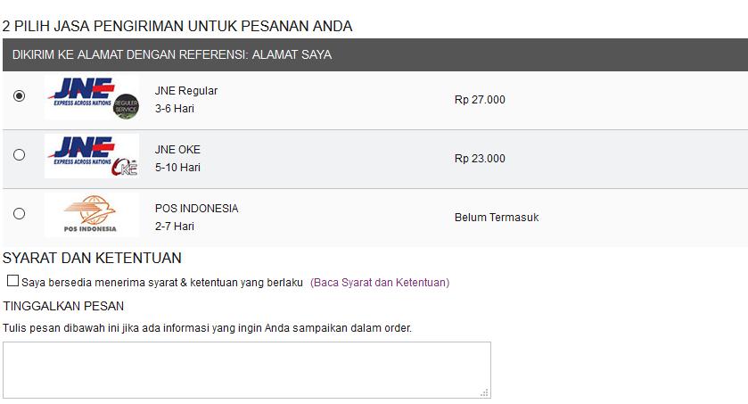 Cara Order 5